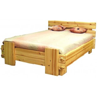 Кровать из массива сосны
