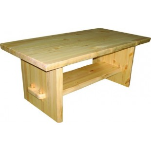 Прямоугольный стол журнальный