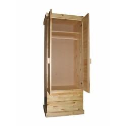 Шкаф 2-х дверный с ящиками Скандинавия