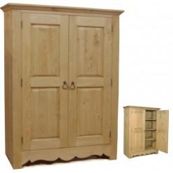 Шкаф для белья ARMOIRETTE 2 P (2 двери 3 фиксированные полки)