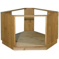 Шкаф-стол угловой под плиту ПЛ - 39