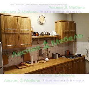 Кухня под заказ Скандинавия. Описание, фото и цена кухни изготовленной под заказ из дуба.