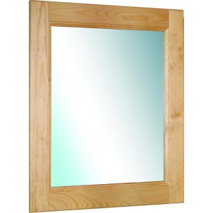 Зеркало к таулетному столику из массива сосны.