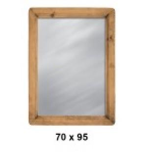 Изображение зеркала в стиле прованс MIRMEX 70X95 MIROIR