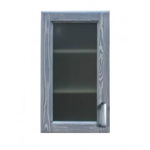 Шкаф со стеклянной дверью
