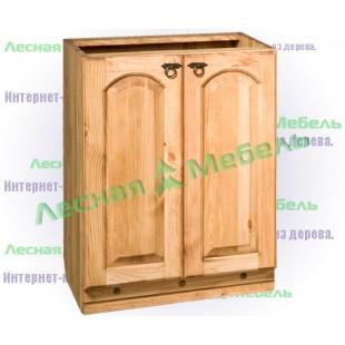 Шкаф под мойку из сосны. | Магазин мебели из дуба и сосны. Звоните нам: 8(926)619-91-20