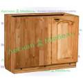Кухонный шкаф-стол угловой