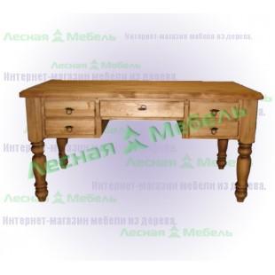 Стол письменный из сосны Викинг