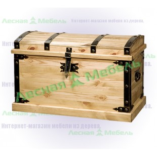 Деревянный сундук Викинг по сходной цене