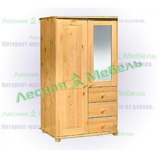 Купить шкаф из сосны Иманта-250
