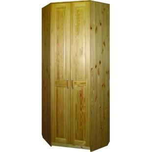 Угловой шкаф из массива сосны