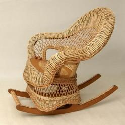 Плетеное кресло качалка «Комфорт» ИЛ-03-К