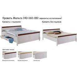 Кровать М с ящиком (180)