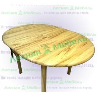 Стол из ясеня Илмар. Обеденный стол из массива ясеня.