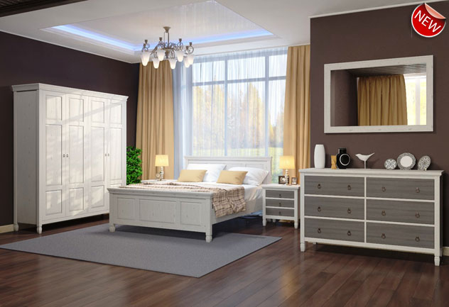Мебель Вайле - спальня из сосны