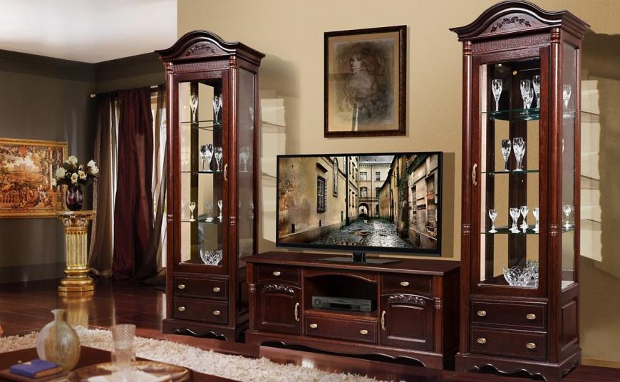 Паола - мебель для гостиной изготовленная из дуба.